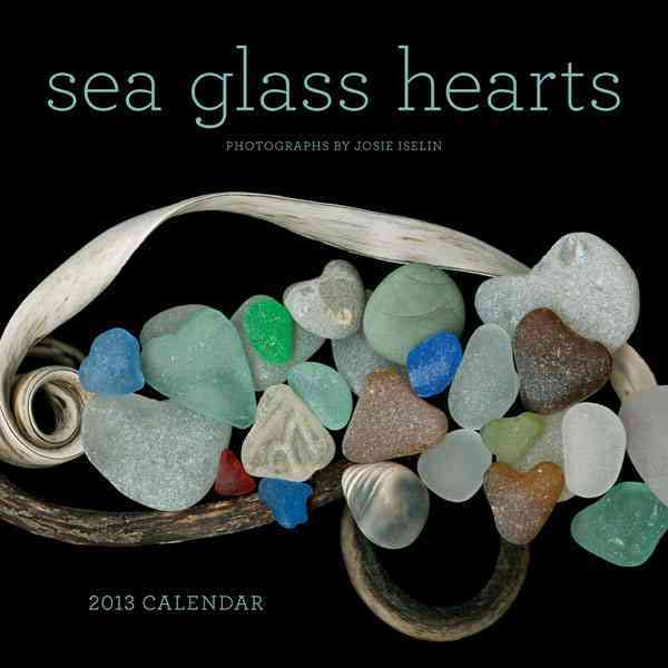 Sea Glass Hearts Calendar 2013