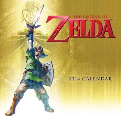 The Legend of Zelda 2014 Calendar (Calendar)