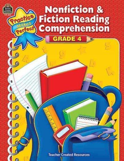 Nonfiction & Fiction Reading Comprehension Grade 4 (Paperback)
