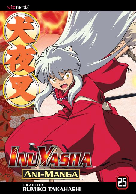 Inuyasha Ani-Manga 25 (Paperback)