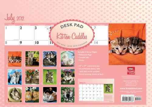 Kitten Cuddles July 2012-June 2013 Calendar