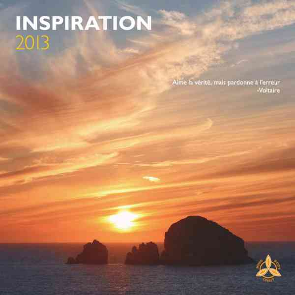 Inspiration 2013 Calendar
