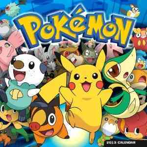 Pokemon 2013 Calendar