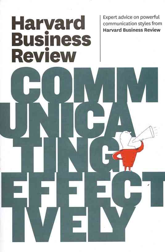 Harvard Business Review on Communicating Effectively (Paperback)