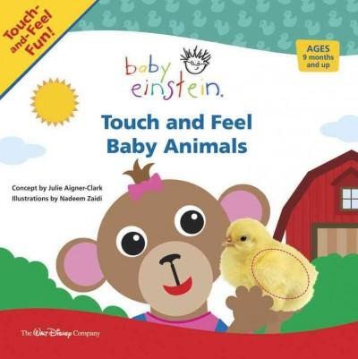 Touch and Feel Baby Animals (Board book)