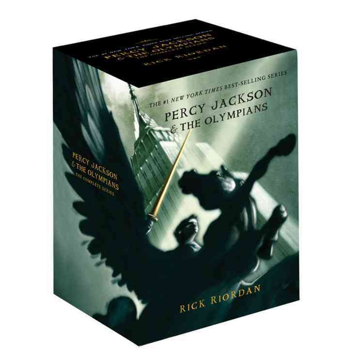 Percy Jackson Boxed Set: The Lightning Thief / The Sea of Monsters / The Titans Curse / The Battle of the Labyrin... (Paperback) - Thumbnail 0