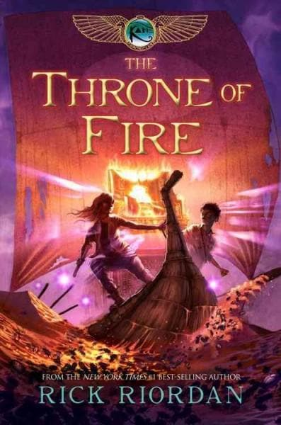 The Throne of Fire: Throne of Fire (Paperback)