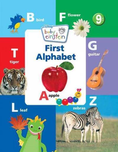 First Alphabet Book (Board book)