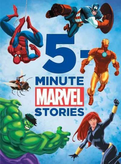 5 Minute Marvel Stories (Hardcover)