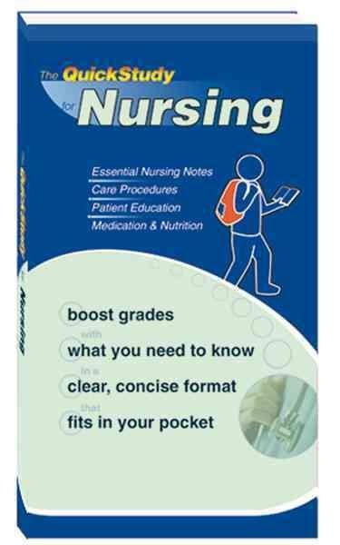 Quick Study Nursing (Paperback)