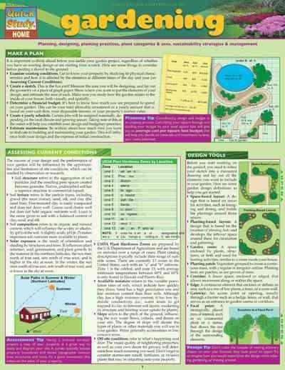 Gardening Tips & Tricks (Wallchart)