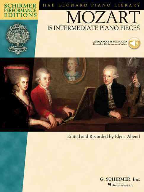 Mozart 15 Intermediate Piano Pieces