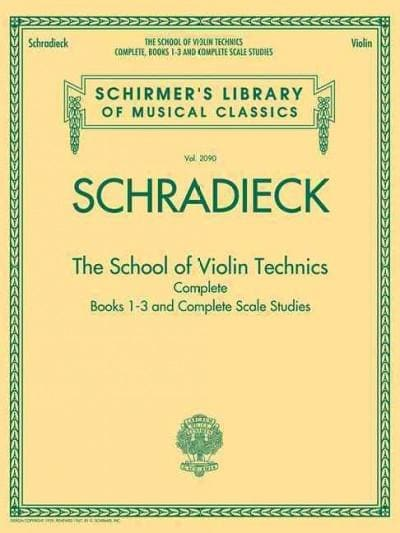 The School of Violin Technics Complete: Books 1-3 and Complete Scale Studies (Paperback)