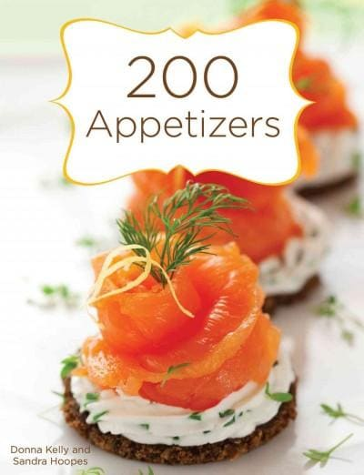 200 Appetizers (Spiral bound)
