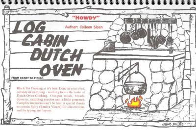 Log Cabin Dutch Oven (Spiral bound)