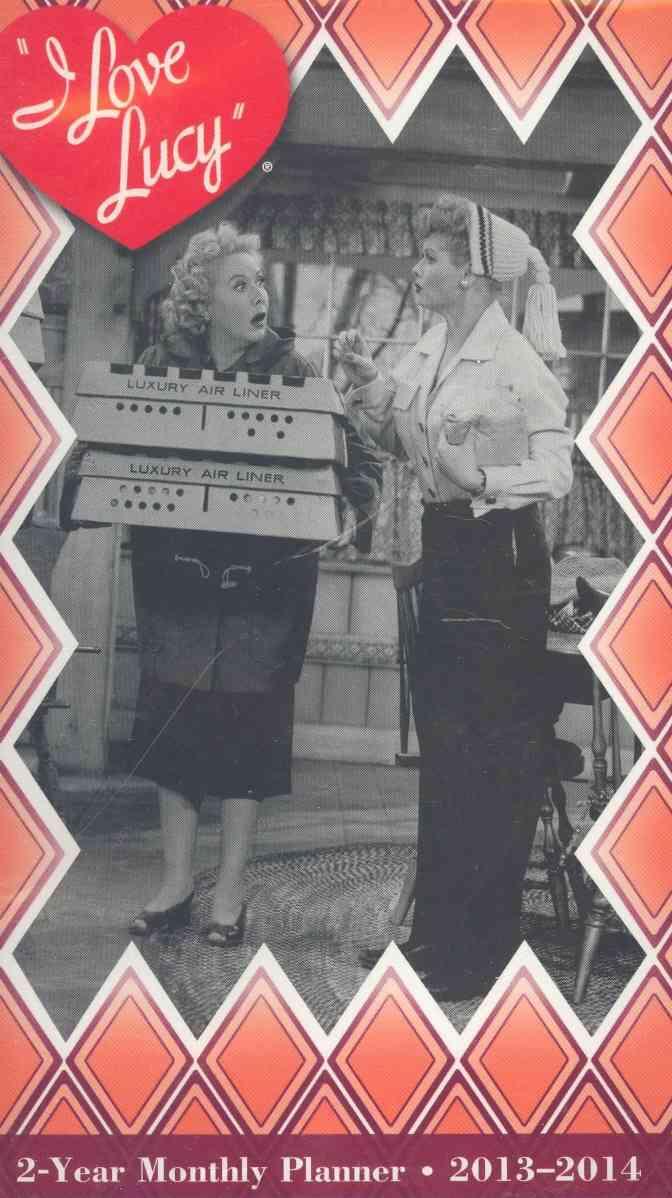 I Love Lucy 2-Year Pocket Planner 2013-2014 Calendar