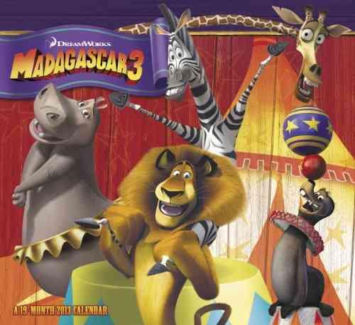 Madagascar 3 2013 Calendar (Calendar)