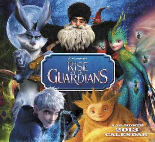 Rise of the Guardians 16-Month 2013 Calendar