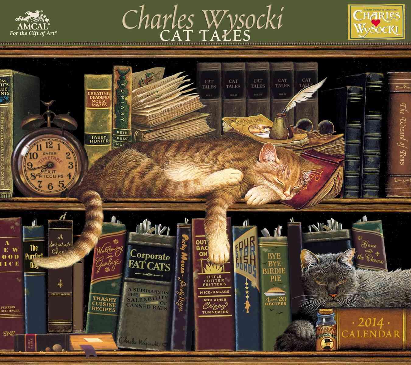 Cat Tales 2014 Calendar (Calendar)