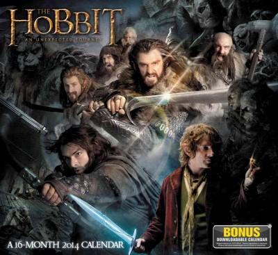 The Hobbit an Unexpected Journey 2014 Calendar (Calendar)