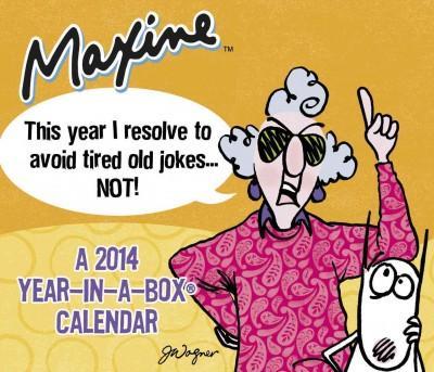 Maxine 2014 Year-in-a-Box Calendar (Calendar)