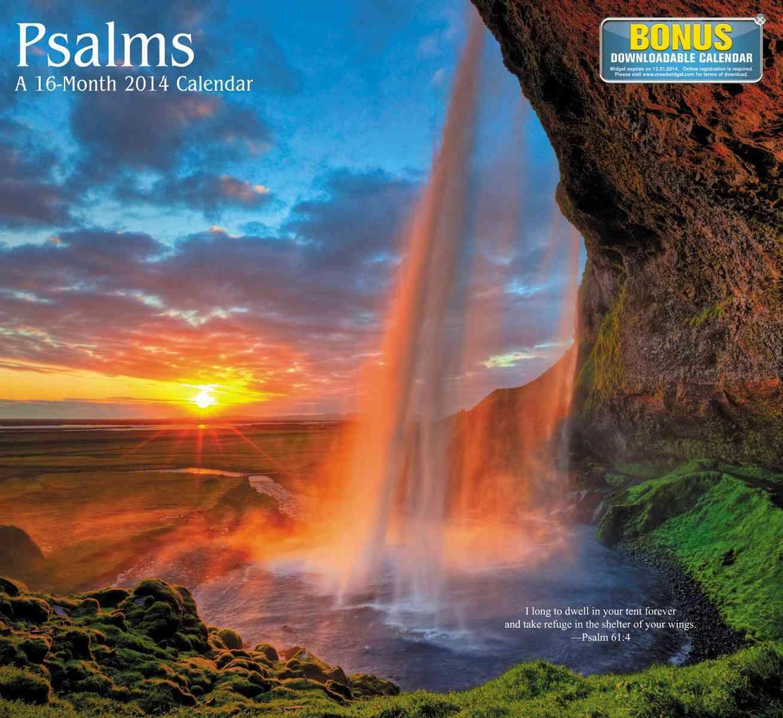 Psalms 2014 Calendar (Calendar)