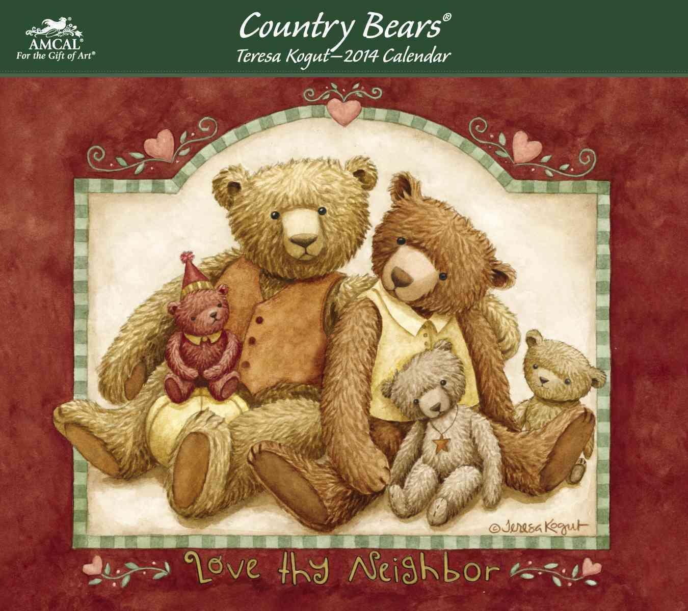 Country Bears 2014 Calendar (Calendar)