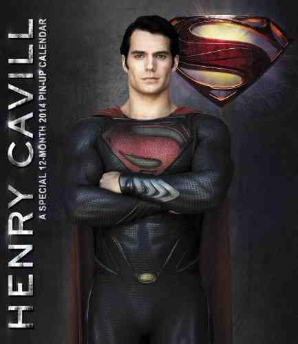 Superman Man of Steel Pin-Up 2014 Calendar (Calendar)