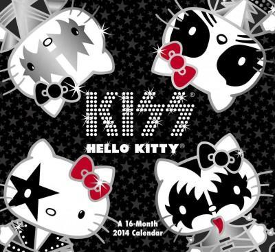 Hello Kitty Kiss 2014 Calendar (Calendar)