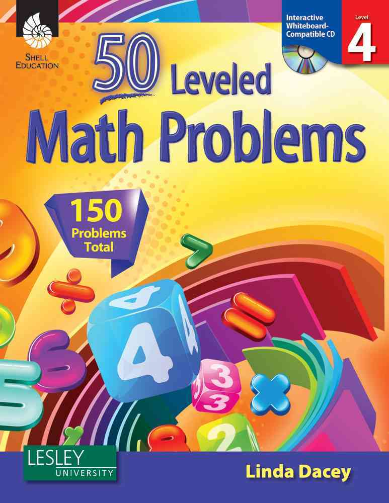 50 Leveled Problems for the Mathematics Classroom Level 4 (Paperback)
