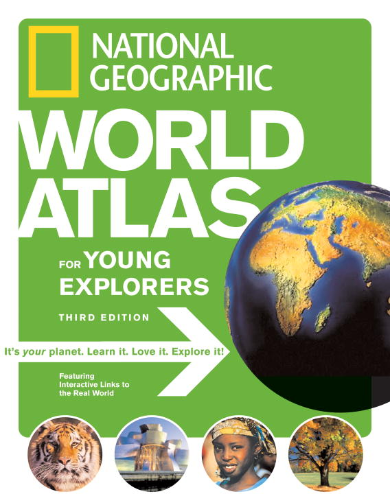 National Geographic World Atlas for Young Explorers (Hardcover)