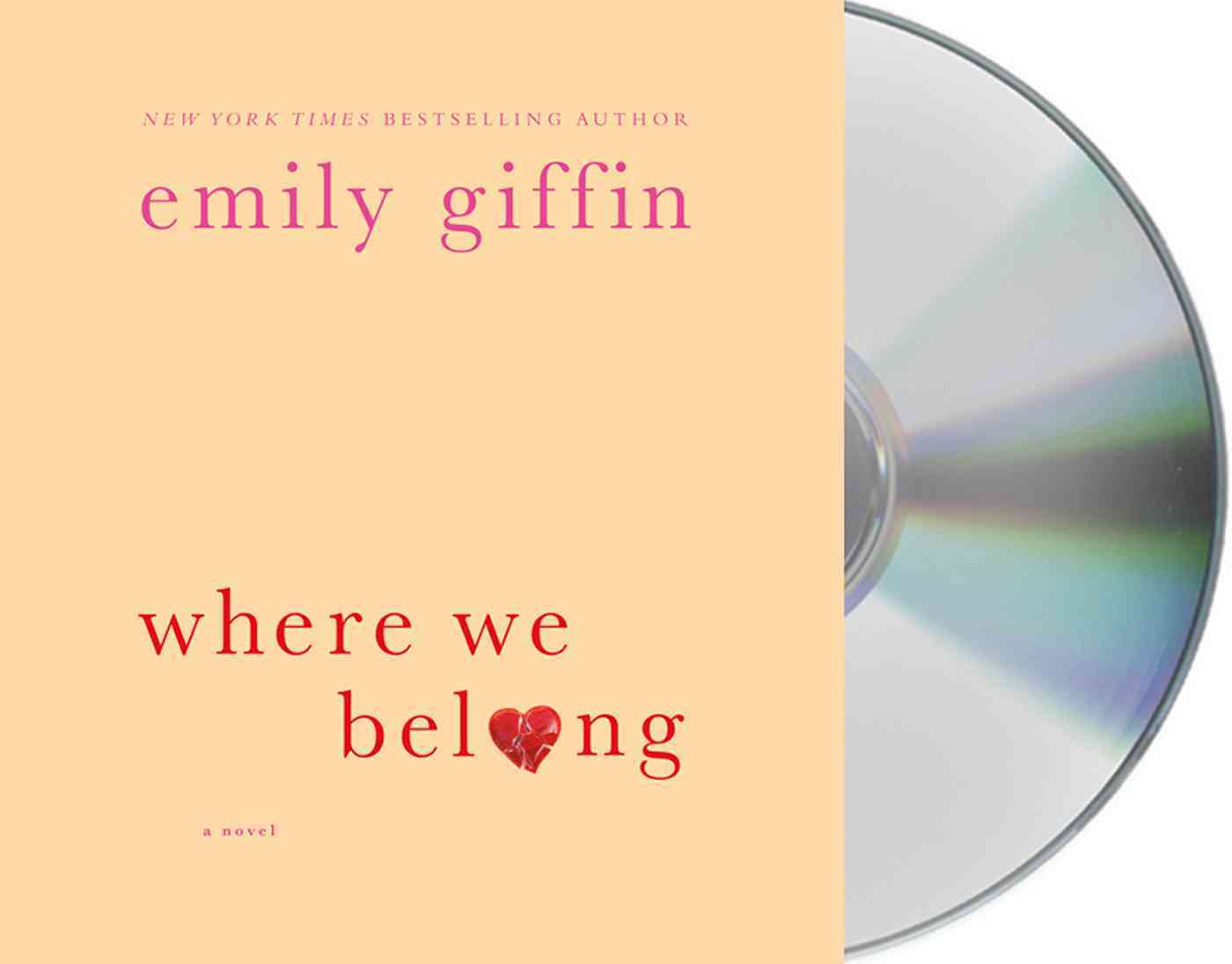 Where We Belong (CD-Audio)