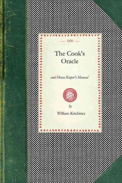 The Cook's Oracle (Paperback)