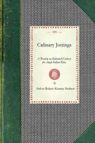 Culinary Jottings (Paperback)
