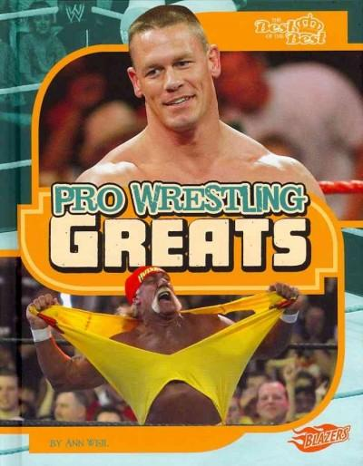 Pro Wrestling Greats (Hardcover)