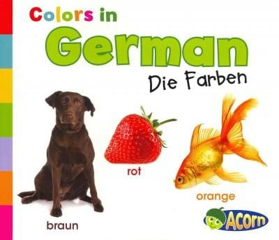 Colors in German (Paperback)