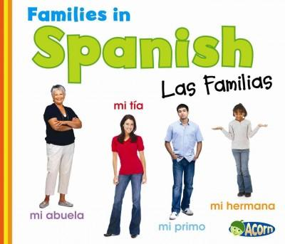 Families in Spanish (Hardcover)
