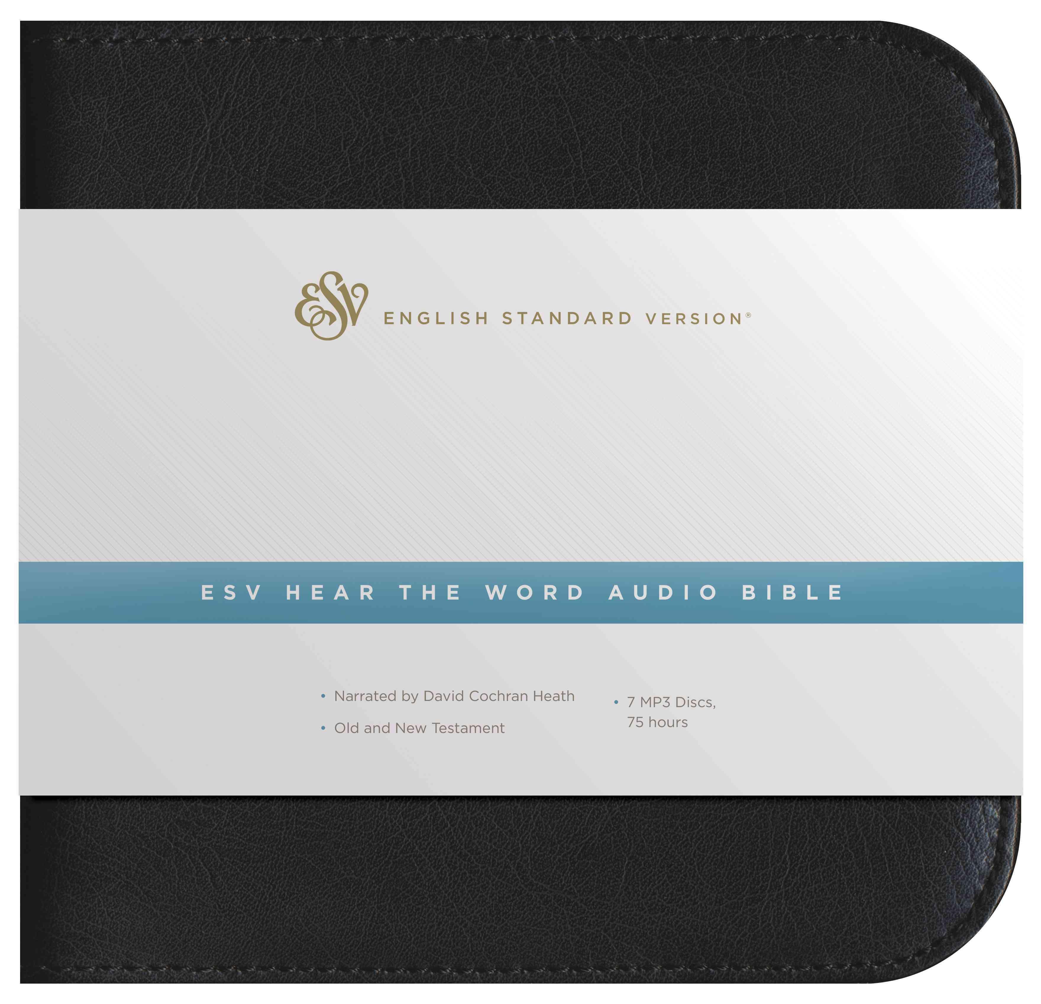 Hear the Word Audio Bible: English Standard Version, Black Zipper Case (CD-Audio)