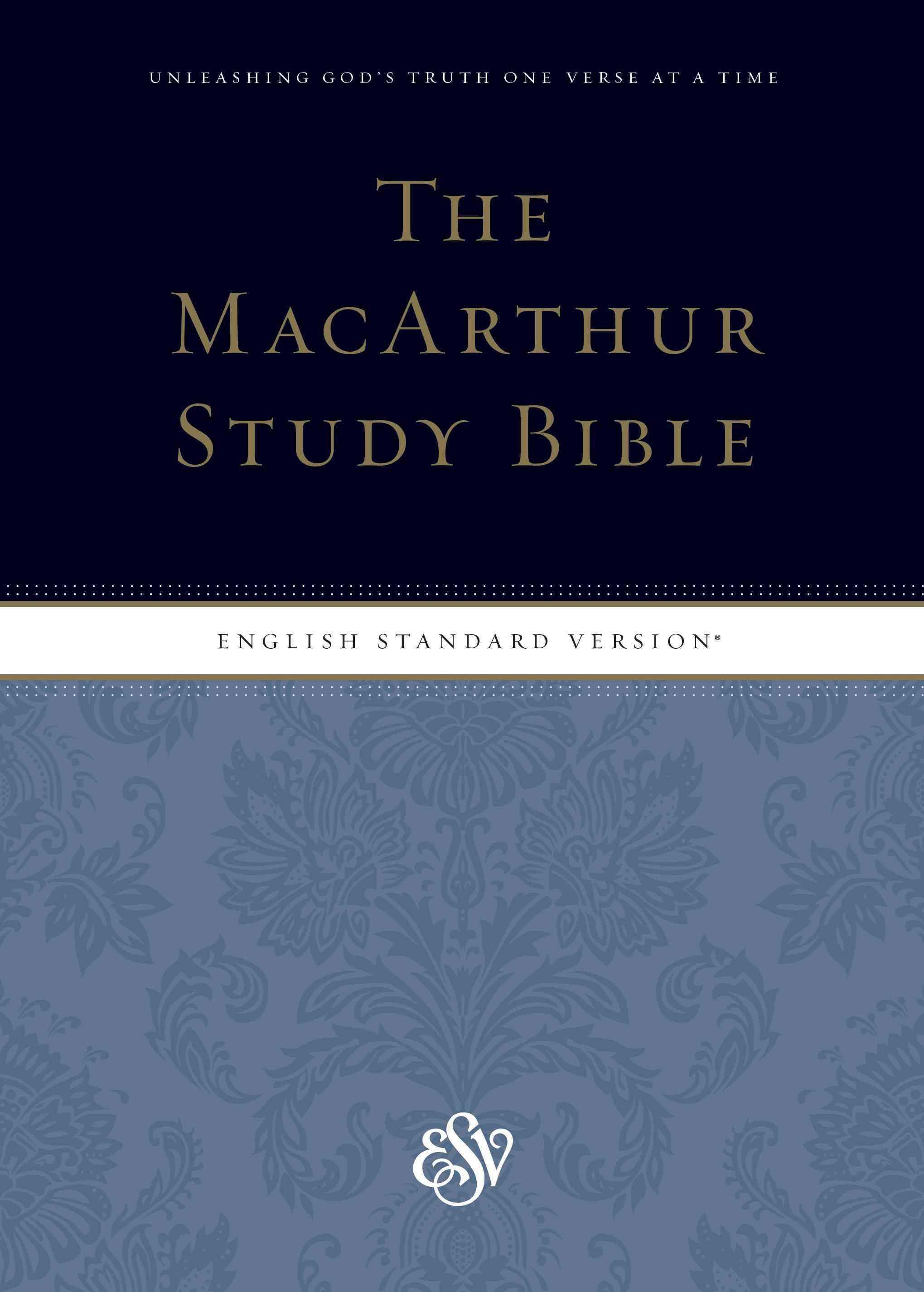 The Macarthur Study Bible: English Standard Version (Hardcover)