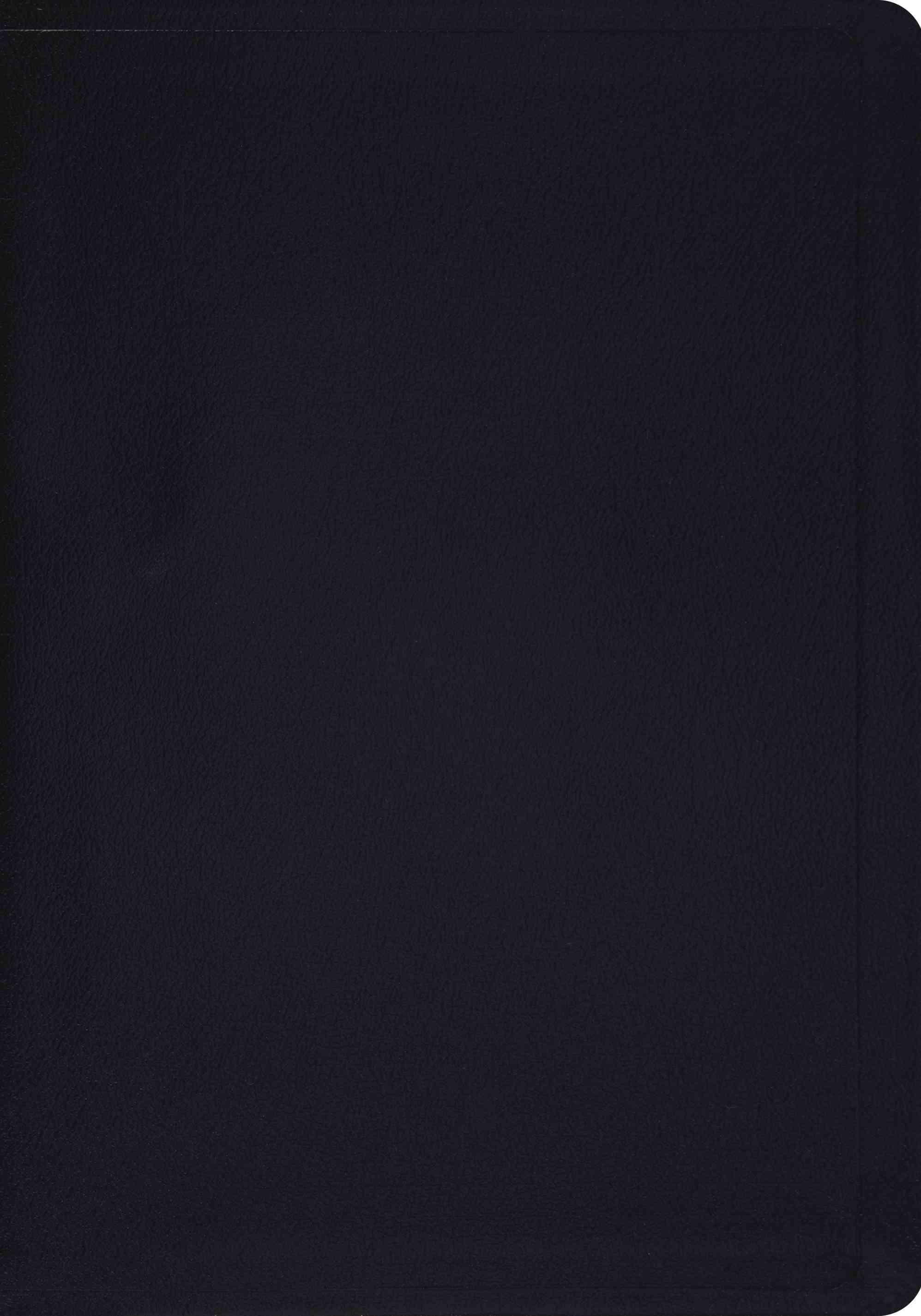 Holy Bible: English Standard Version, Black, Genuine Leather (Paperback)
