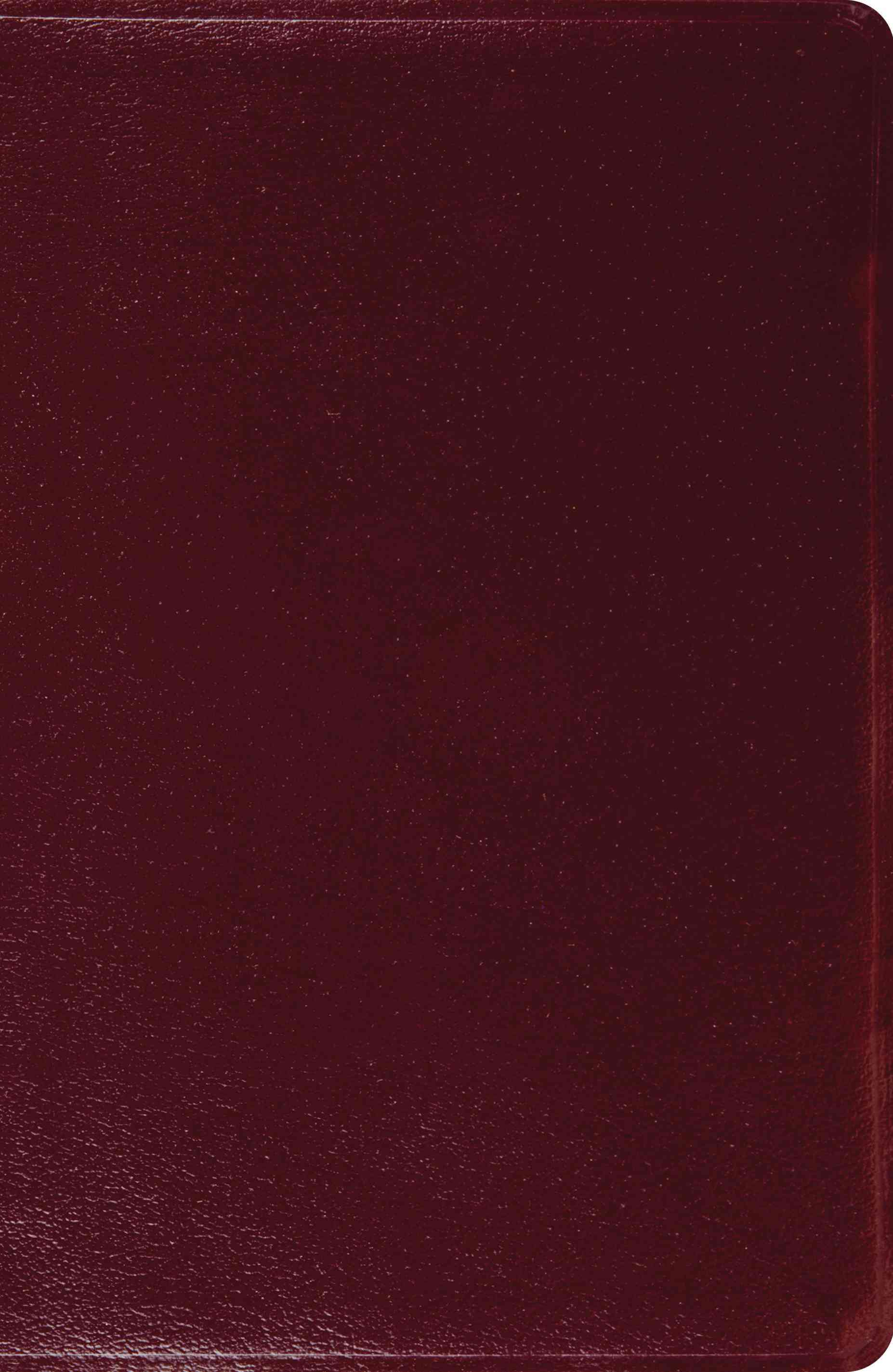 The Holy Bible: English Standard Version, Burgundy, Genuine Leather (Paperback)