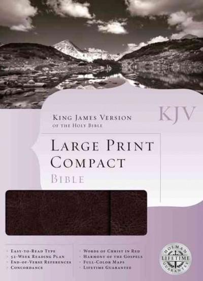 Holy Bible: King James Version Brown Simulated Leather With Magnetic Flap (Paperback)
