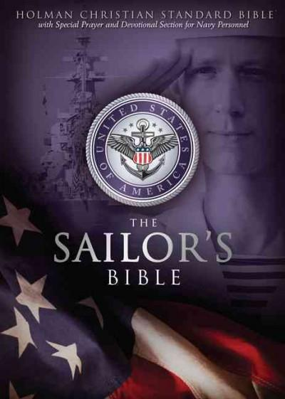 The Sailors's Bible: Holman Christan Standard Sailor's Bible, Devotional, Black, Simulated Leather (Paperback)