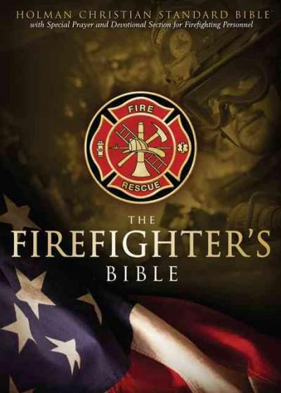 The Firefighter's Bible: Holman Christian Standard, Devotional, Burgundy Simulated Leather   (Paperback)
