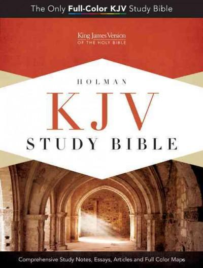 Holman KJV Study Bible: King James Version, Cameo Rose/Brown, LeatherTouch (Paperback)