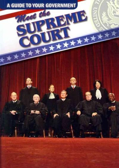 Meet the Supreme Court (Paperback)