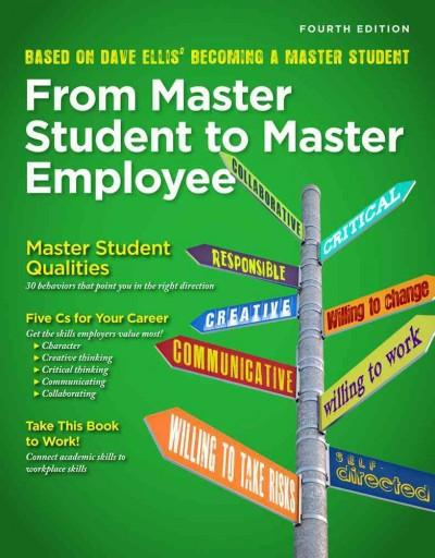 From Master Student to Master Employee (Paperback)