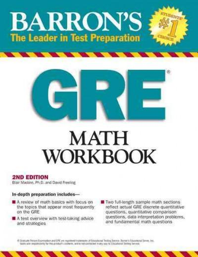 Barron's GRE Math (Paperback)