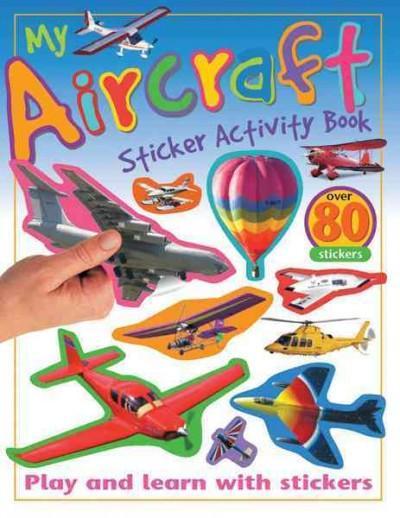 My Aircraft Sticker Activity Book (Paperback)