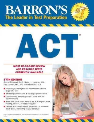 Barron's ACT (Paperback)